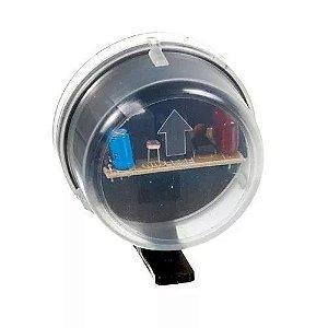 Relé Fotocélula Temporizado Externo 2x1 Qualitronix - Qr50m