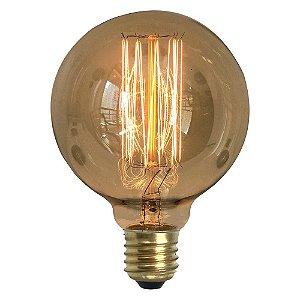 Lâmpada Retrô Decorativa Vintage Thomas Edison G95
