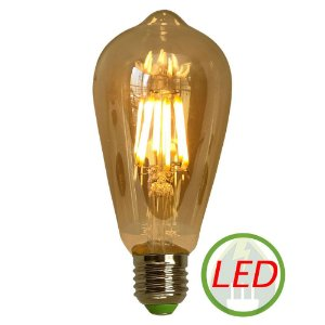 Lâmpada St64 Retro Decorativa Vintage Led 4w - Gmh