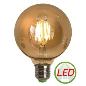 Lâmpada Retro Decorativa Vintage 4W G95 Led