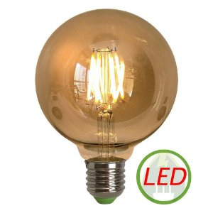 Lâmpada Retro Decorativa Vintage 6W G95 Led 127V - GMH