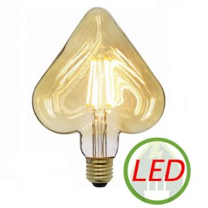 Lâmpada de Filamento LED HEART Squirrel Cage 4W - GMH