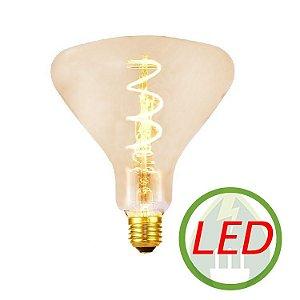 Lâmpada de Filamento LED R140 Spiral 4W Âmbar - GMH