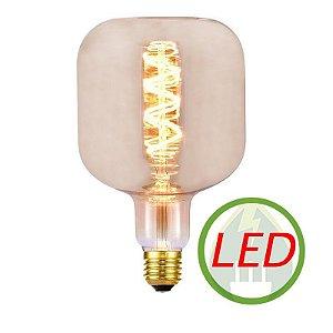 Lâmpada de Filamento LED U120 Spiral 4W Âmbar - GMH