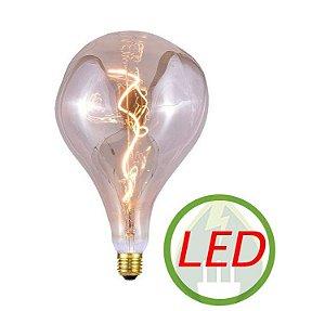 Lâmpada De Filamento LED PS52 Spiral 4W Âmbar - GMH