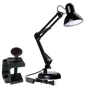 Luminária Desk Lamp Preto - GMH