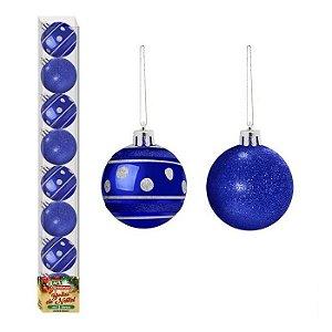 Bola de Natal linha Veneza 8 unidades
