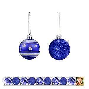 Bola de Natal linha Veneza 10 unidades