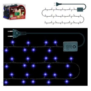 Pisca Pisca Arroz 100 lâmpadas Azul - 127v