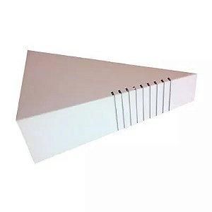 Arandela Porto Branco Para 1 Lâmpada Tualux