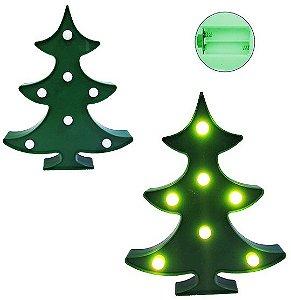Luminária Pinheiro 7 LEDS Plástico