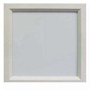 Luminária LED 16W Embutir Sevilha Branco quente 24x24 Tualux