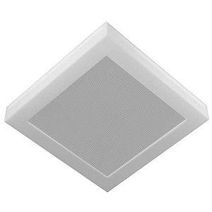 Luminária LED 25W Embutir Londres Branco quente 33x33 Tualux