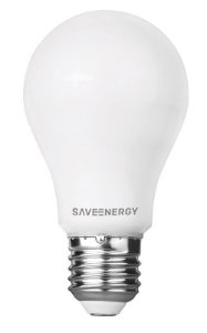 Lâmpada LED Bulbo 6W A60 6500K Bivolt - Save Energy