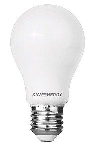 Lâmpada LED Bulbo 9,5W A60 6500K Bivolt - Save Energy