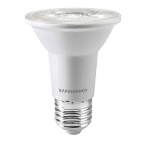 Lâmpada PAR20 LED Clear 7W 6500K Bivolt - Save Energy