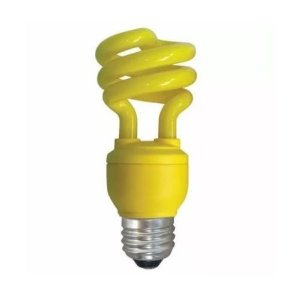 Lâmpada Fluorescente Amarela 15w Xelux