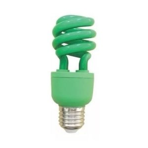 Lâmpada Fluorescente Verde 15w Xelux
