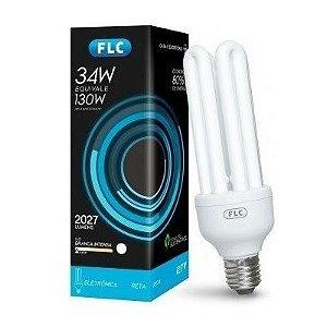 Lâmpada Fluorescente 4U 6400k 34w 220v - FLC