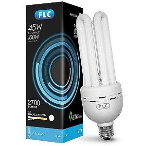 Lâmpada Fluorescente 4U 6400k 45w 127v - FLC