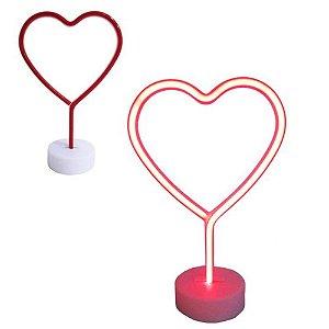 Luminária Neon Coração Led - 95794