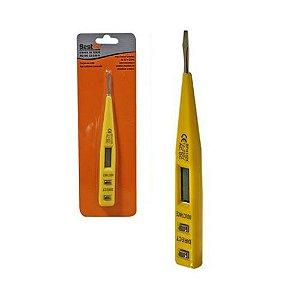 Chave P/ Teste 12 A 220V Amarelo