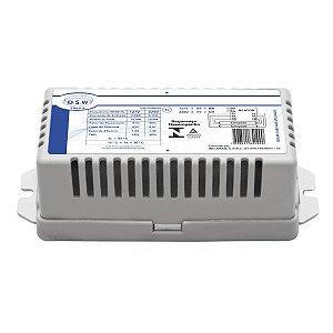 Reator Eletrônico p/ 2 lâmpadas Fluor. 16W - T8