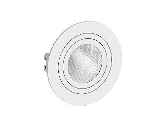 Spot Embutr REDONDO PAR20 Face Plana Branco - SAVE ENERGY