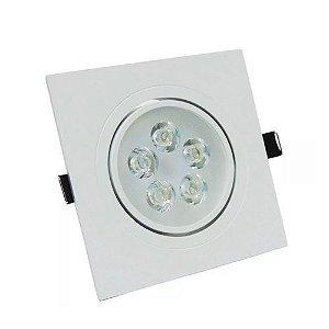 Spot LED 5w Quadrado Embutir 3000k - MAXTEL