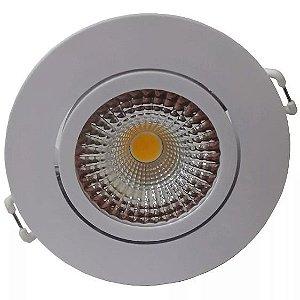 Spot Embutir LED 7w REDONDO 3000k - CLX