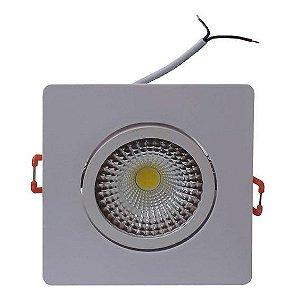 Spot Embutir LED 7w QUADRADO 3000k - CLX