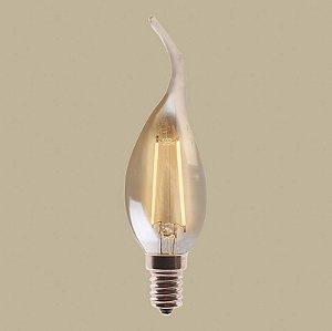 Lampada de Filamento LED vela chama 2w E14 - GMH