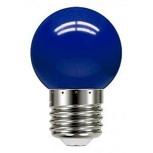 Lâmpada Bolinha Led 1w 127v Azul - CTB
