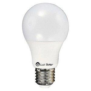 Lampada Bulbo LED 9W 6500K 12V - LUZ SOLLAR