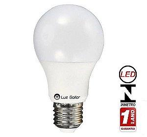 Lampada Bulbo LED 7W 6500K Bivolt - LUZ SOLLAR