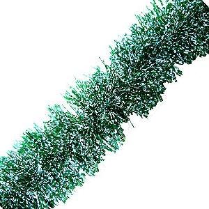 Festão Metalizado Verde 2m
