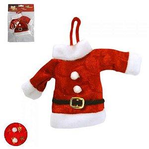 Enfeite Casaco Papai Noel