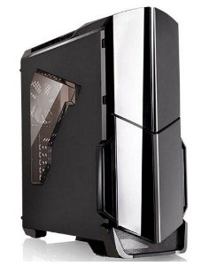 Gabinete Thermaltake Versa N21 Black Red Led