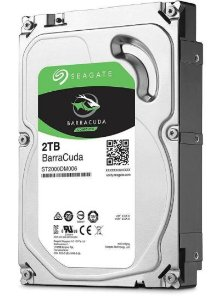 HD Interno Computador SATA3 2TB Seagate Barracuda 7200 64MB