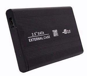 """Gaveta para HD 2,5"""" USB 2.0 SATA"""