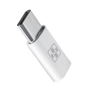 Adaptador Micro USB Type-C 2.0 Fêmea x Type-C 2.0 Macho MaisMania