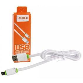 Cabo USB Para Celular Micro USB V8 - Kaidi