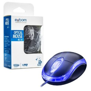 Mouse USB MS-10 - Exbom