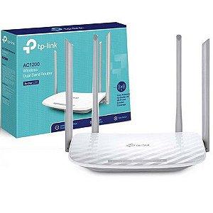 Roteador C50 AC1200 com 4 Antenas - TPLink - Facebook Like