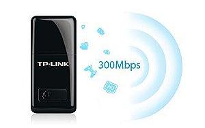 Adaptador Mini USB Wireless 300Mbps Tl-WN823N - Tp-Link
