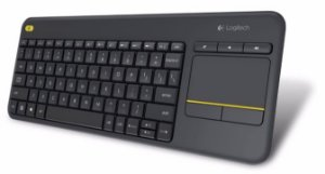 Teclado Logitech Wireless Touch Keyboard - K400 Plus