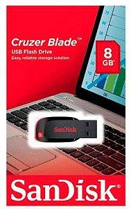 Pen Drive Sandisk Cruzer Blade Z50 - 8GB