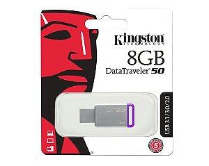 PenDrive Kingston DT50 USB 3.1/3.0/2.0 - 8GB