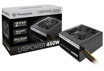 Fonte ATX Thermaltake Litepower 450W LTP-0450C-F
