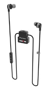 Fone de Ouvido Bluetooth Pioneer Ironman - SE-IM5BT-H - Preto e Cinza